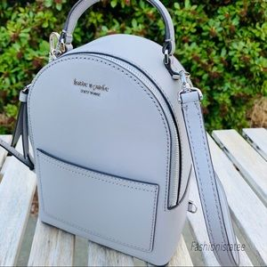 Kate spade Mini backpack convertible gray OR black